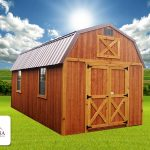 Montana Structures Western Series - Lofted Barn