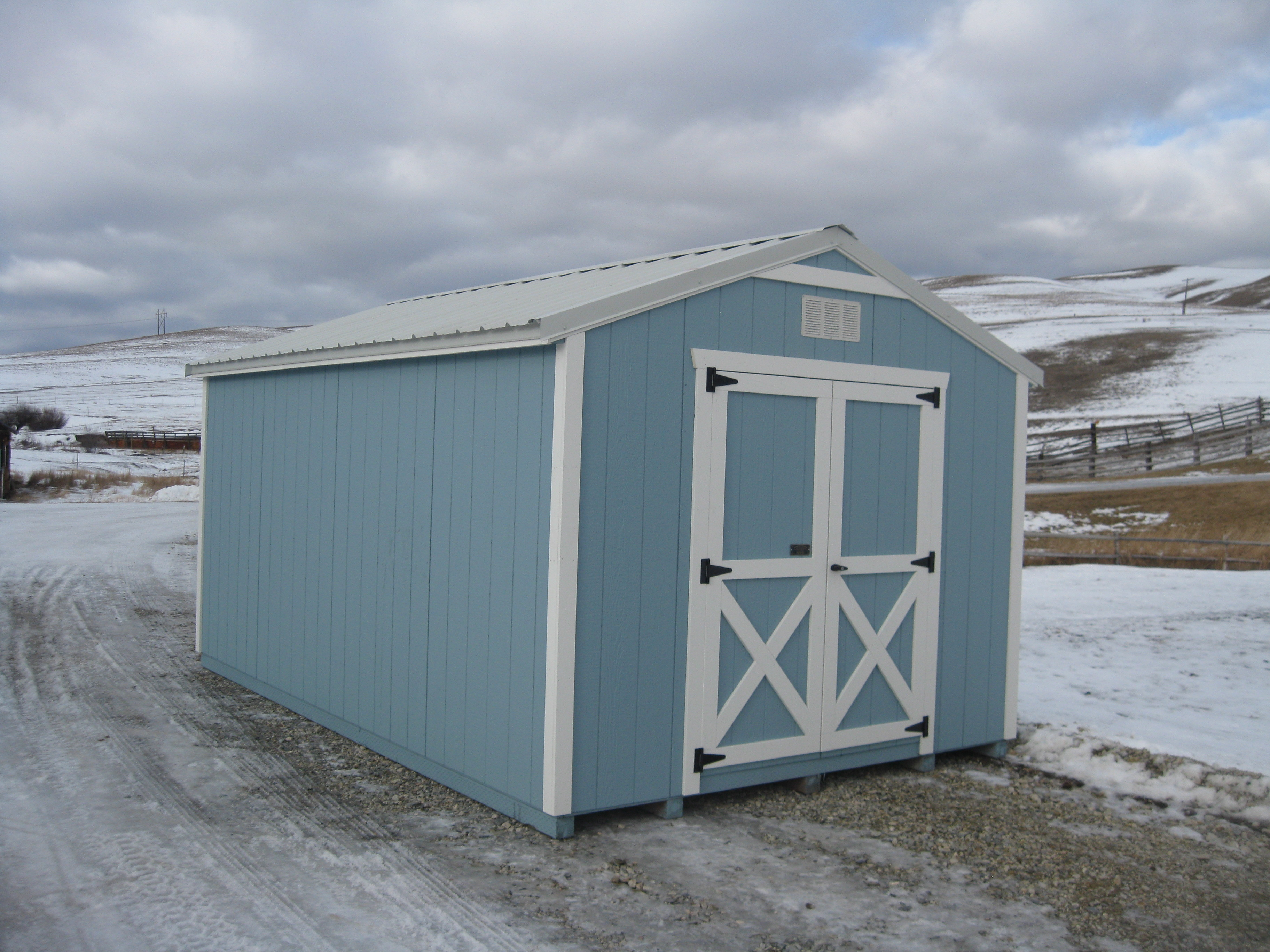 Utility Shed Montana Structures