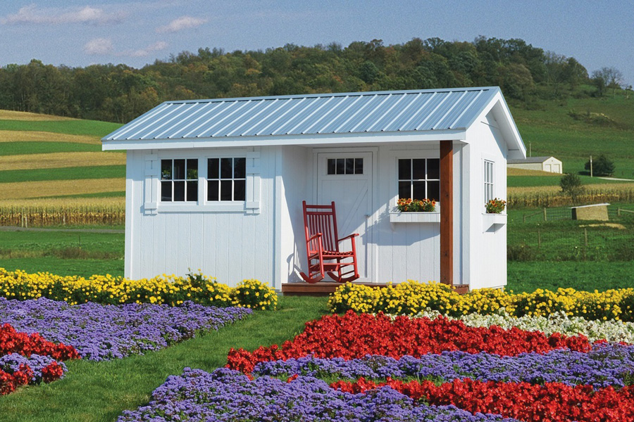 Pre-Built Storage Sheds in Montana