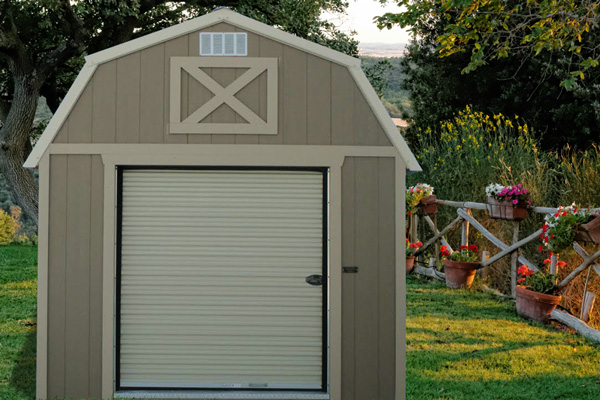 Lofted Storage Garages