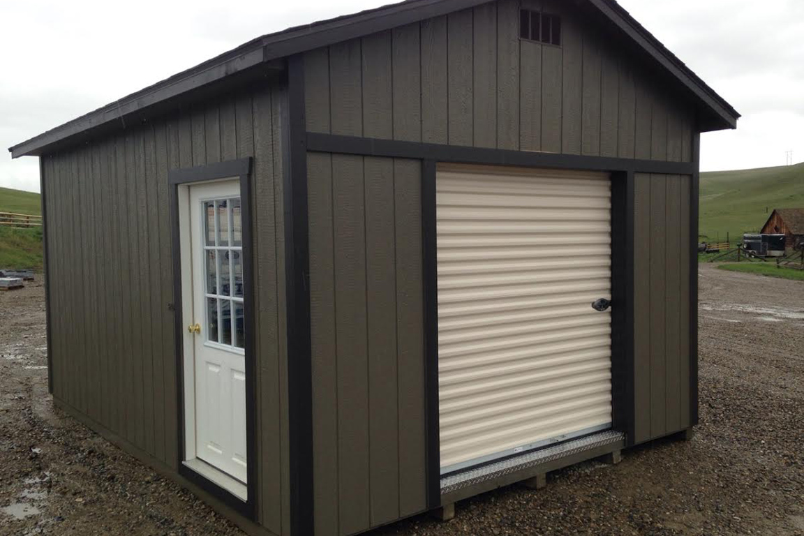 Portable Garages For Sale >> Pre Built Garages From Montana Structures Get A Free Quote