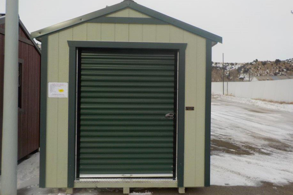 another idea we would love to discuss it with you and make your dream a reality see our utility shed if you decided that you dont need a garage door - Pre Built Garage