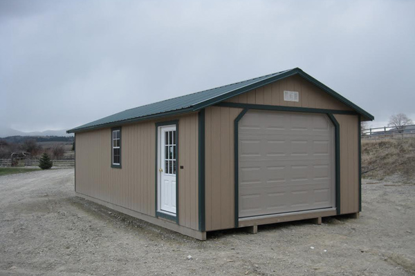 Storage sheds in montana idaho and wyoming see prices for Modular garage addition