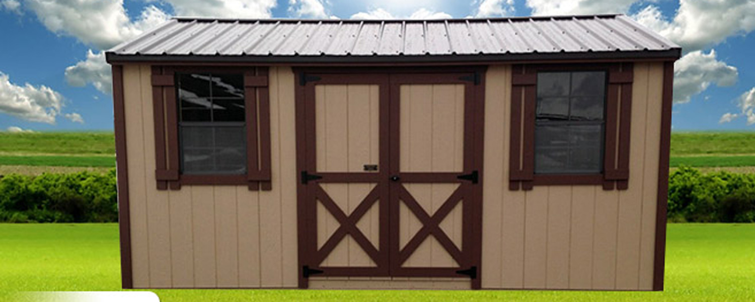Utility Sheds with Many Size Choices | Small Sheds, Large Sheds