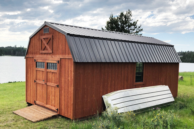 Lofted Barn Sheds For Sale In Montana Small Sheds Large