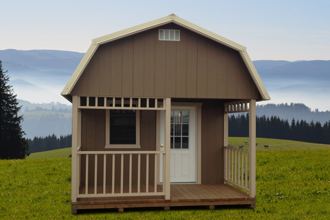 Portable Cabin With A Loft See The Prices Online In Montana