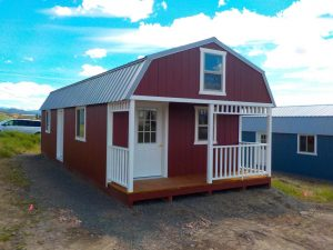 Loft Cabins For Sale in Montana with Porch