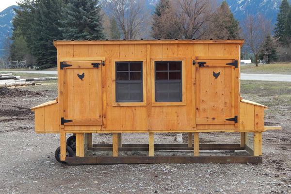 Portable chicken coops for sale in mt see prices online for Portable coop