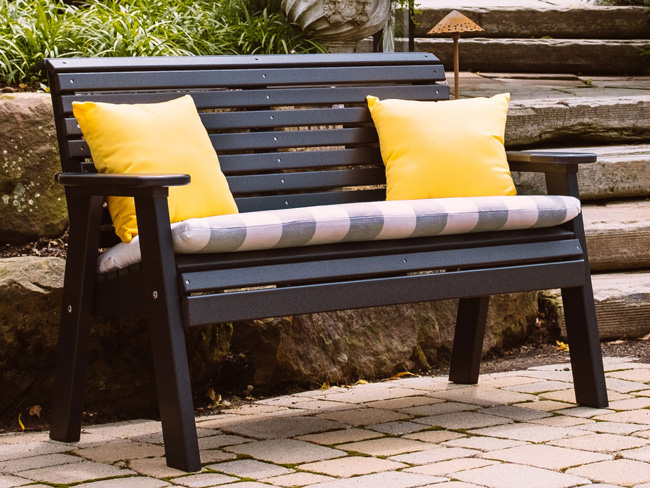 Luxcraft Poly Benches available in Montana, Idaho and Wyoming
